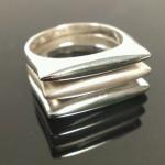 Három részes gyűrű. 8.9g   11.000ft